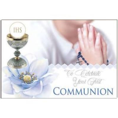 Post a Plaque:First Communion Boy