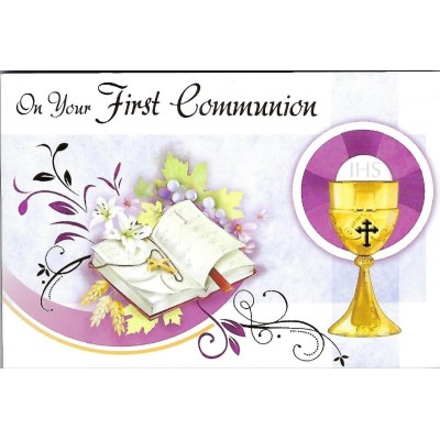 Post a Plaque:First Communion Girl