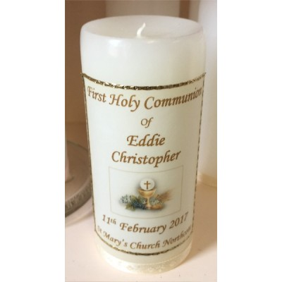 First Holy Communion Candle
