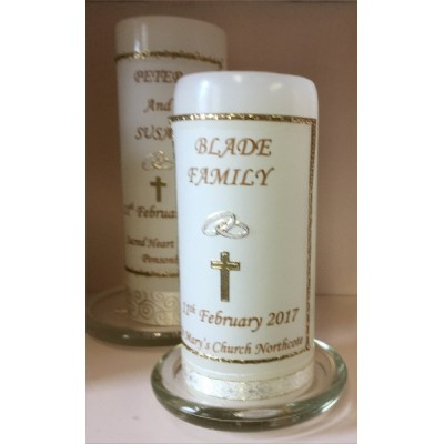 Wedding Candles for Mothers