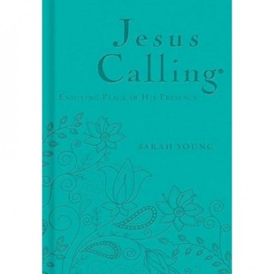 Jesus Calling 365 Devotional Teal Leatherette