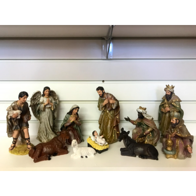 Nativity Set 200mm 11 pieces