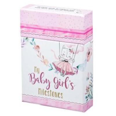 My Baby Girls Milestones Pink Boxed