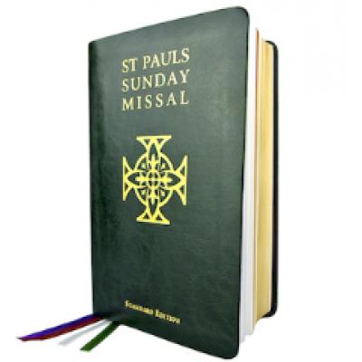 St Pauls Sunday Missal Standard Ed Green Leatherette