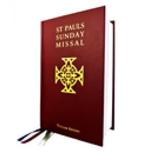 St Pauls Sunday Missal Popular Edition Red H/C