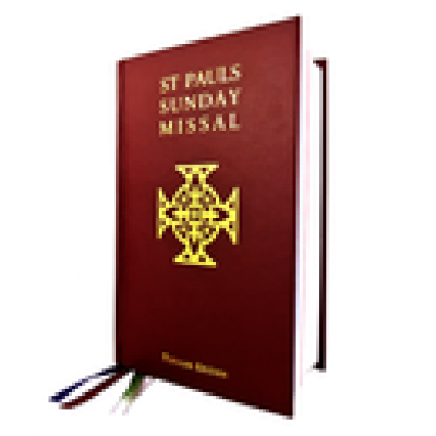 St Pauls Sunday Missal Popular Edition Red H/C