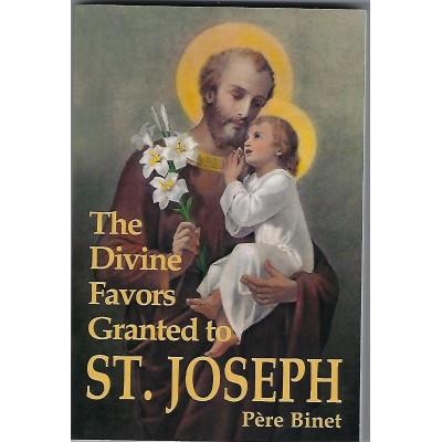 Divine Favors Granted to St. Joseph